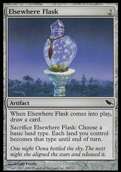 Elsewhere Flask (Woandersbuddel)